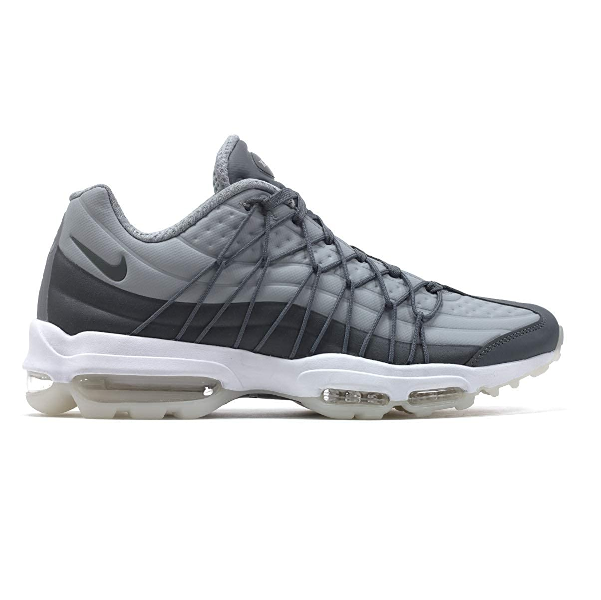 d2968d054e2b3 NIKE Mens AIR MAX 95 Ultra SE Cool Grey Running Trainers AO9082 009 ...