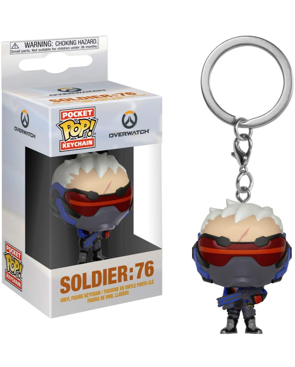 Horror-Shop Overwatch Soldier 76 Llavero Bolsillo Pop ...