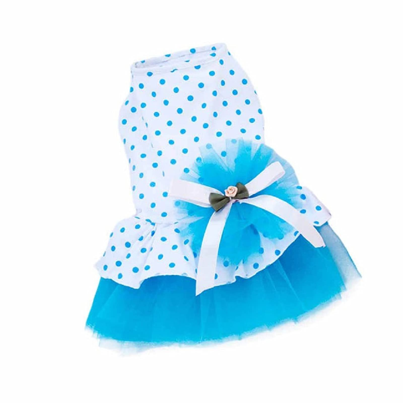 HP95(TM) Pet Dog Dress 2015 Romantic Blue L - 1