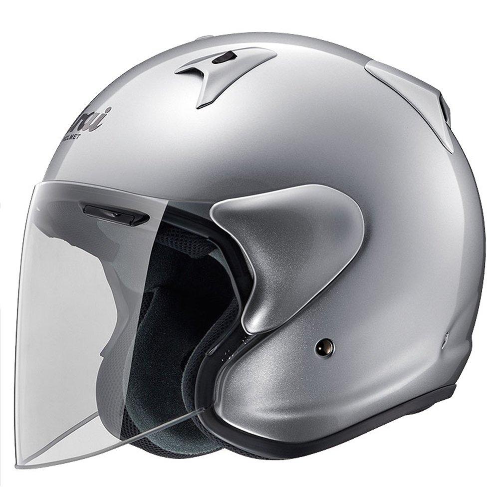 アライ(ARAI) バイクヘルメット ジェット SZ-G アルミナシルバー M 57-58cm