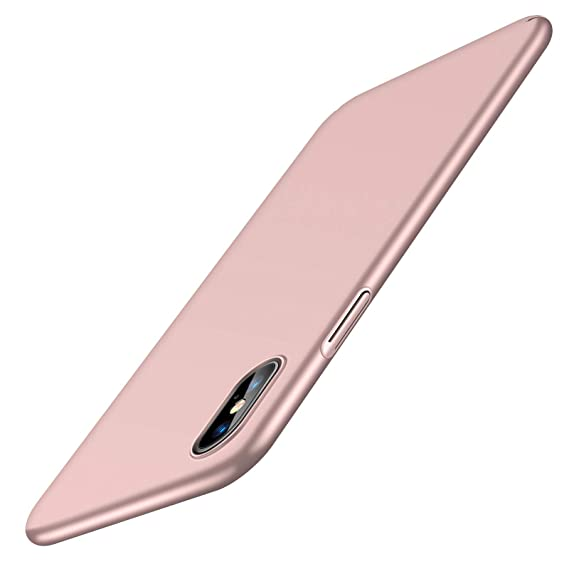 reputable site afd4d 496a9 TORRAS Slim Fit iPhone Xs Max Case, Hard Plastic Ultra Thin Phone Cover  Case with Matte Finish Grip Compatible with iPhone Xs Max 6.5 inch (2018),  ...