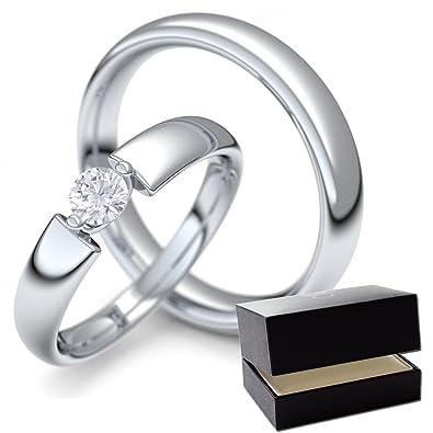 ehering weissgold mit diamant