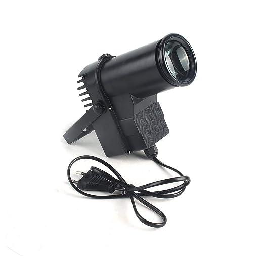 Lorenlli Luz de Escenario LED portátil RGBW Pinspot Haz de ...
