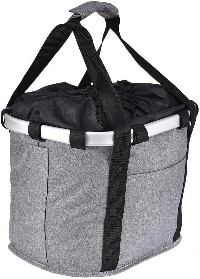 Removable Bike/Basket Bicycle Handlebar Basket Cycling Bag Shopping Basket Small Pet Cat Dog Carrier Cycling Bag
