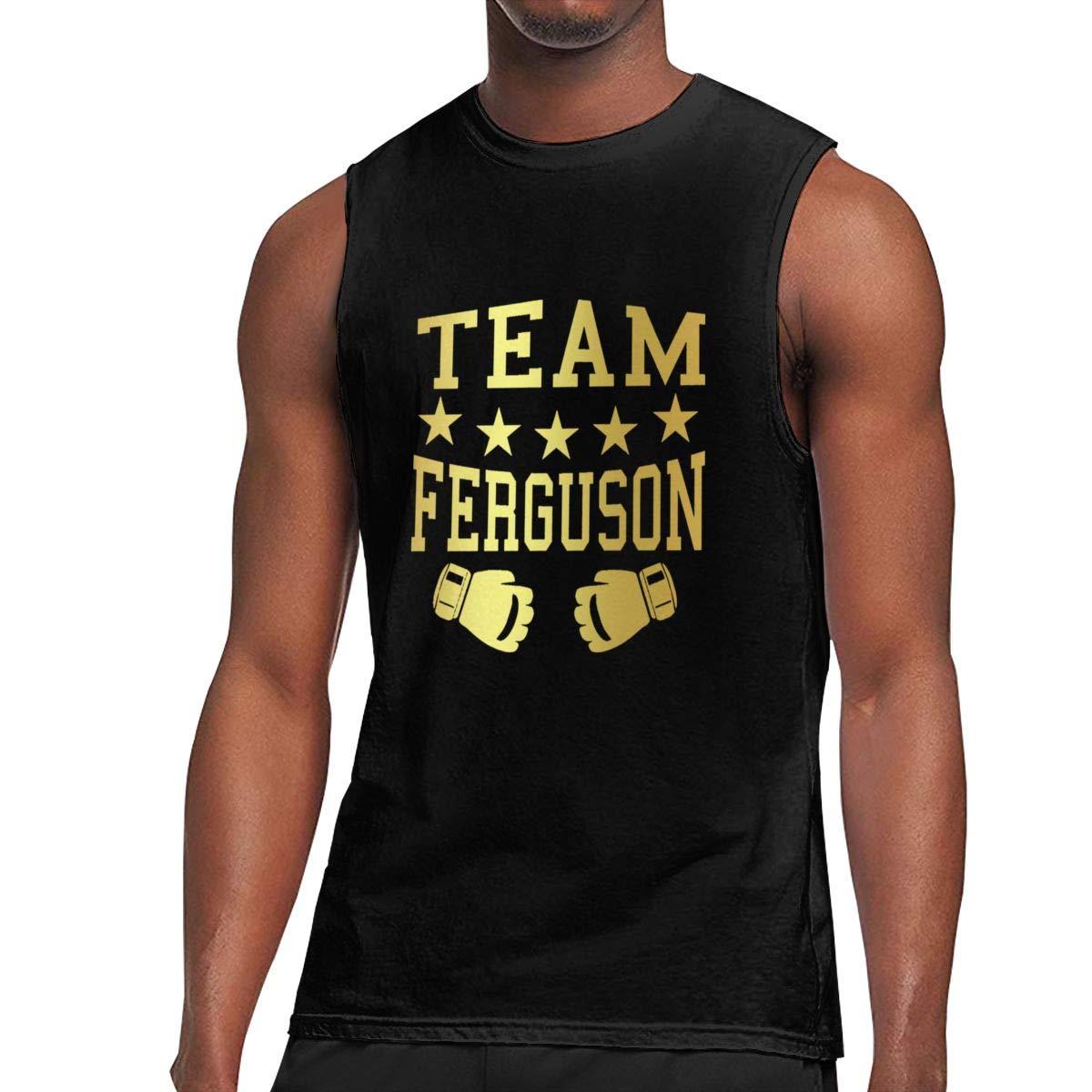 Seuriamin Team Tony Ferguson S Basic Walk Sleeveless Muscle Short Sleeve T Shirts
