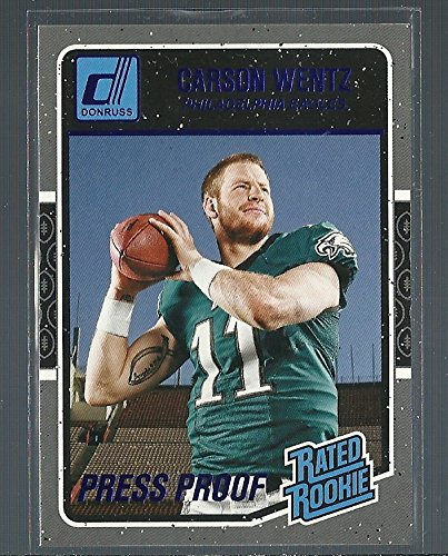 official photos 6d3a1 5fe9a 2016 Panini Donruss Football #356 Carson Wentz NDSU ...