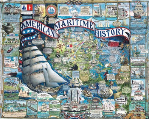White Mountain Puzzles American Maritime History by White Mountain Puzzles
