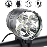 Nestling® 2400Lumens CREE XML-T6 LED Bike Light Set USB Rechargeable,Waterproof