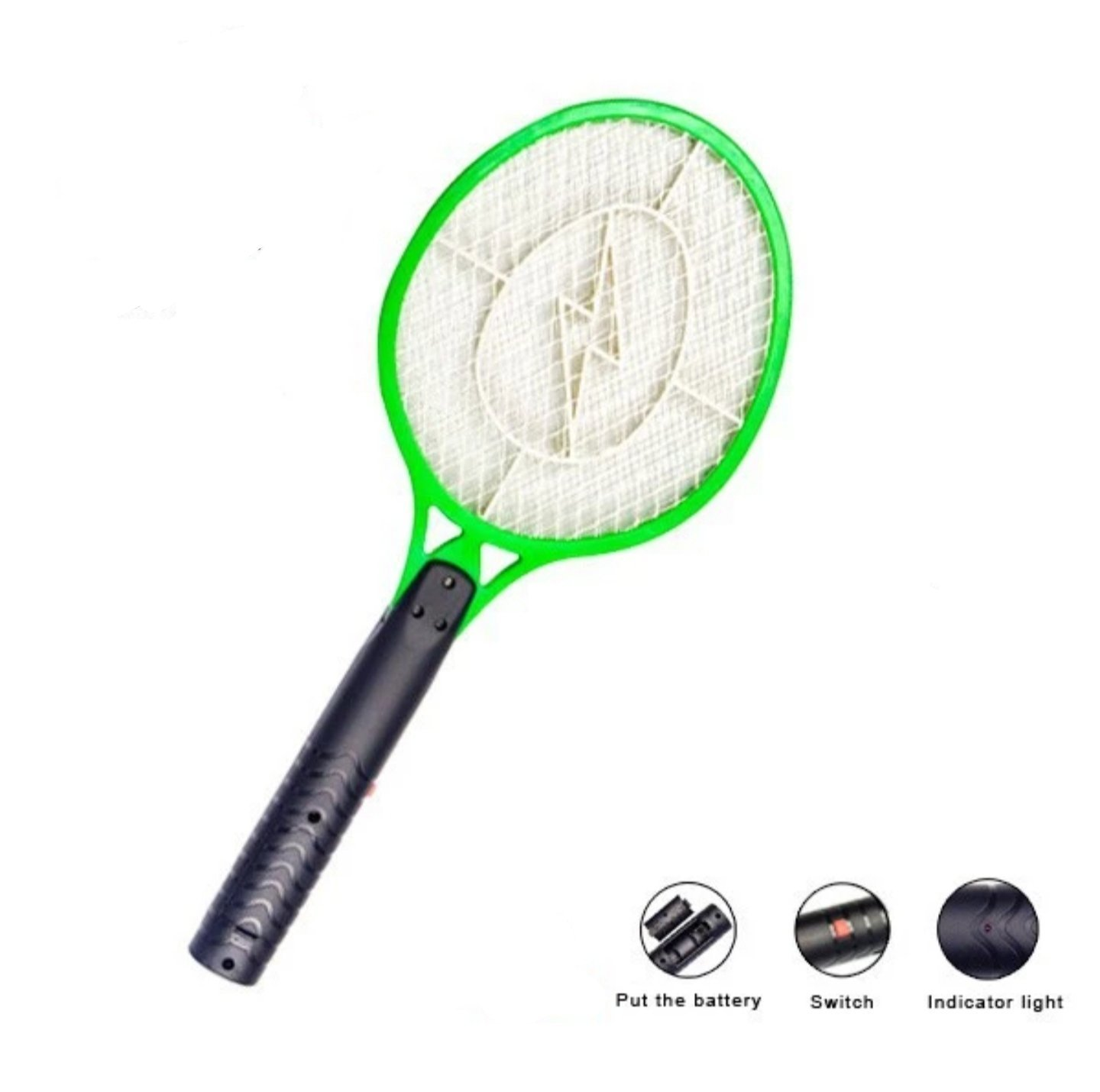 Handheld Bug Zapper Electric Bug Zapper Fly/Mosquito Swatter Best for Indoor and Outdoor Pest Control by Zapz (Image #2)