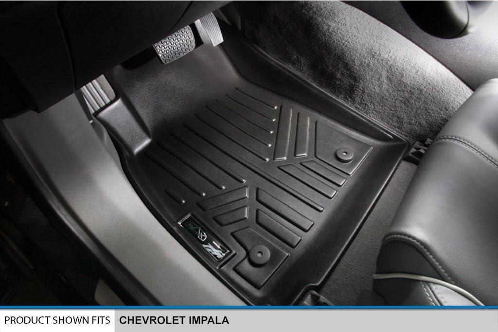 2014-2015 Black First Row Set MAXFLOORMAT Floor Mats for Chevrolet Impala MAXLINER A0157