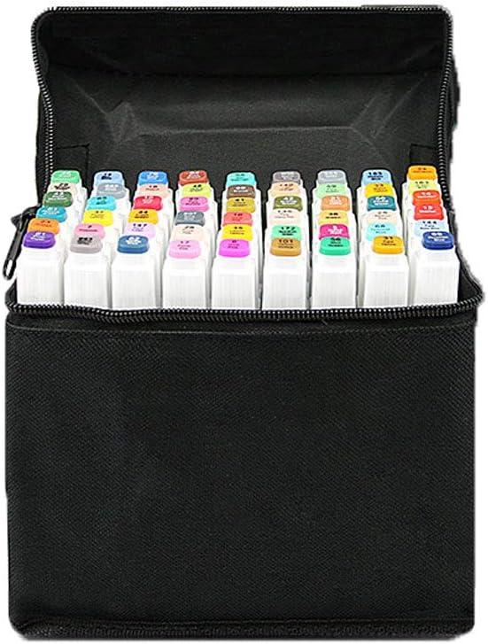 Hbwz Sketch - Juego de rotuladores Recargables con Bolsa de Almacenamiento, Color Blanco: Amazon.es: Hogar