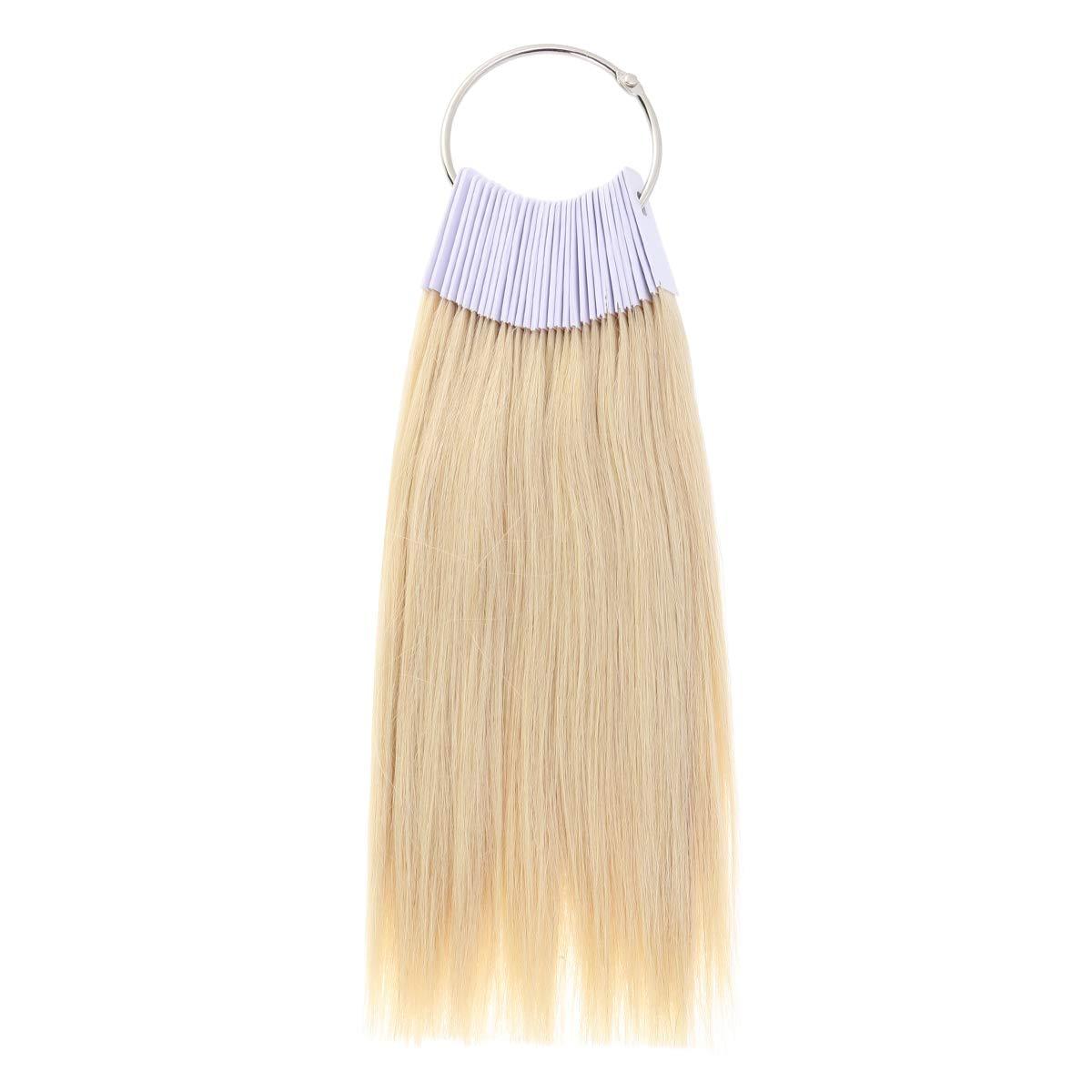 Amazon.com : 30Pcs Hair Color Rings Human Hair Swatches ...