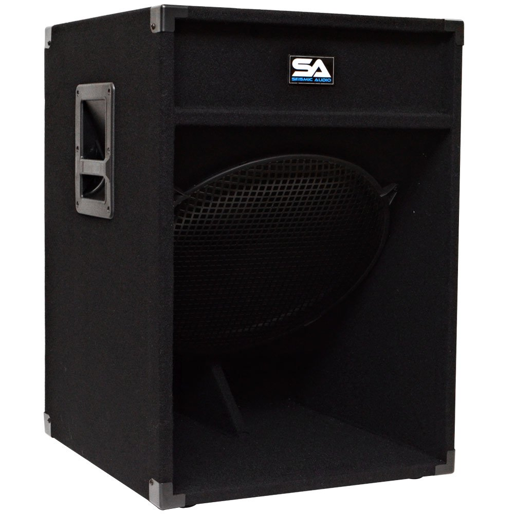 Seismic Audio - 18'' Down Firing Pro Audio Subwoofer PA Cabinet