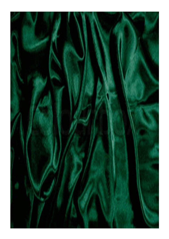 Oscuro verde botella costura boda Prom por metro 60