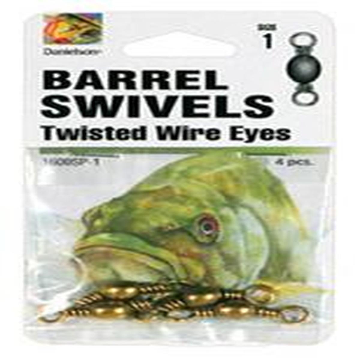 ダニエルソンSwivelsバレルSP BRS SZ 1 fishing-equipment   B003OAYZW2