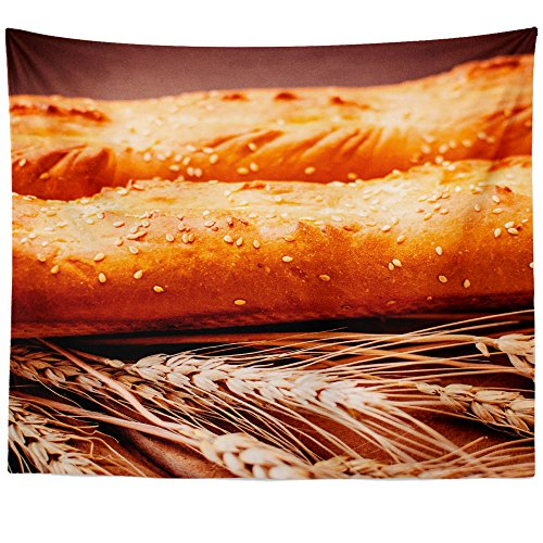 Westlake Art Wall Hanging Tapestry - Baguette Bread - Photography Home Decor Living Room - 68x80in (x8z-bf5-c1b) (Deco Baguette)
