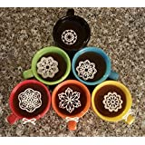Edible Lace 24 PC Small White Vintage Doily Topper - Cupcake, Cake, Cookie, Coffee, Tea, or any Dessert-