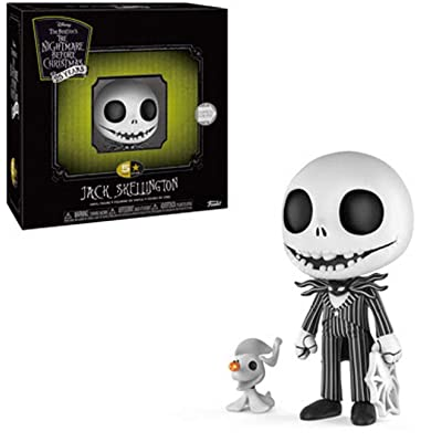 Funko 5 Star: Nightmare Before Christmas - Jack Skellington with Zero Collectible Figure, Multicolor: Toys & Games