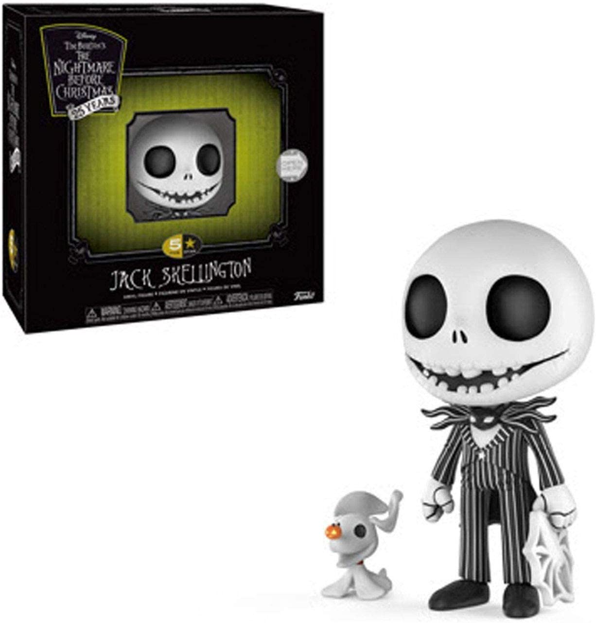 Funko- 5 Star: Nightmare Before Christmas: Jack Skellington Stars Figura Coleccionable, Multicolor, Estándar (32852)