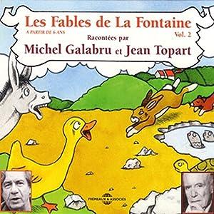 Les Fables de La Fontaine - volume 2 Hörbuch