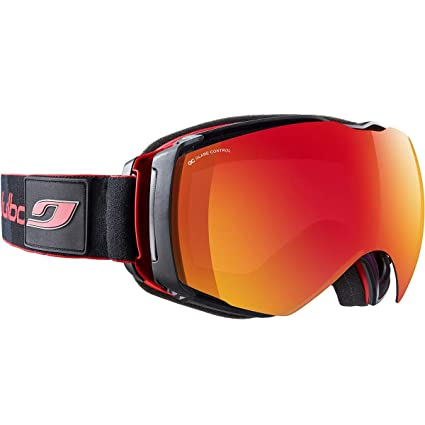 7173e3957c Julbo Airflux Snow Goggles Ultra Venting Superflow Technology No Fogging -  Polarized Spectron 3 - Red