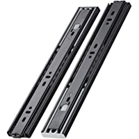 AOLISHENG Push to Open Drawer Slides 14 inch Ball Bearing Side Mount Full Extension Drawer Runners Rails Heavy Duty 100…