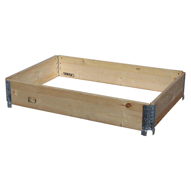 Holzaufsatzrahmen Ippc Mit 4 Scharnieren 120x80x20cm Amazon De