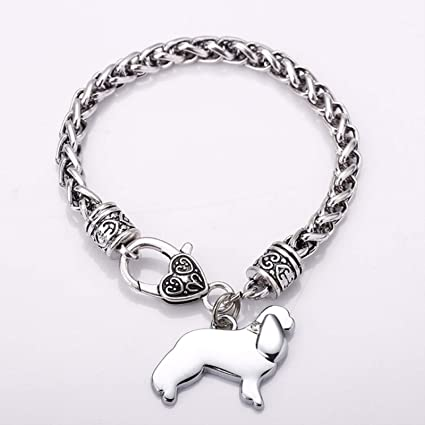 Amazon Com S7 Fashion Jewelry Dalmatian Charm Bracelets For Men