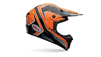 Bell Casco de motocicleta de 1, Adult Casco, color Race Naranja, ...
