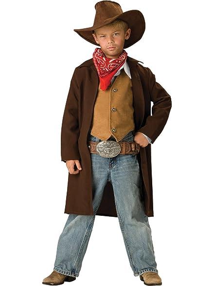Amazon.com: InCharacter Costumes Boys 8-20 Rawhide Renegade Duster ...
