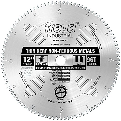 12 inch 96 tooth saw blade - 4