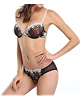 Vogues Secret Sexy Sheer Lace See Through Bra Transparent Unlined Plus Size Bras Underwear Bralette for