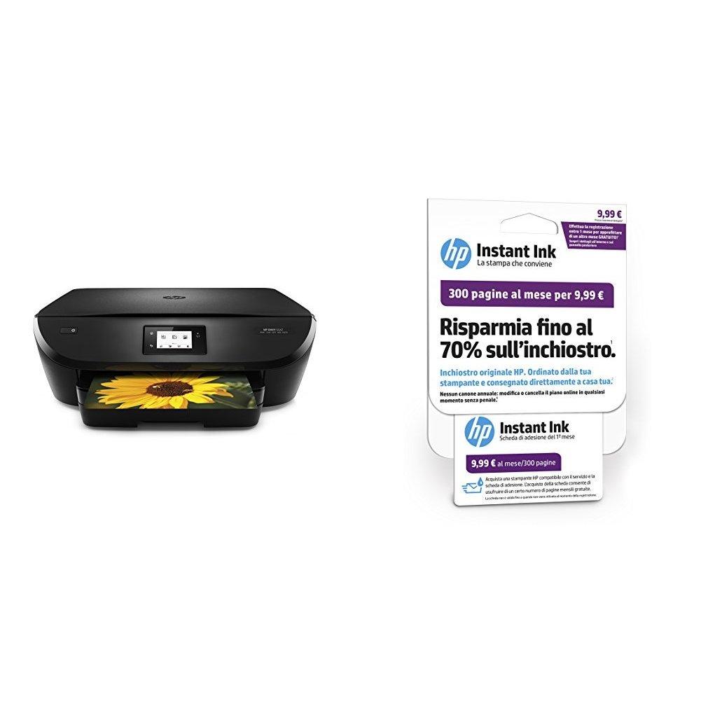 HP ENVY 5547 Stampante Multifunzione, Instant Ink Ready con 3 Mesi di Prova Gratuiti J6U64A