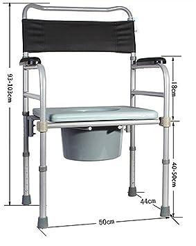 G & M Ancianos piel sentado sillas maternidad para inodoro ...