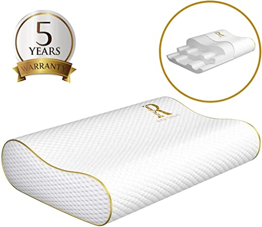 Amazon.com: Almohada de espuma viscoelástica Royal Therapy ...
