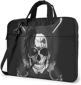 Funny Pirate Animation Laptop Shoulder Messenger Bag,Laptop Shoulder Bag Carrying Case with Handle Laptop Case Laptop Briefcase 14 Inch Fits 13 inch Netbook/Laptop