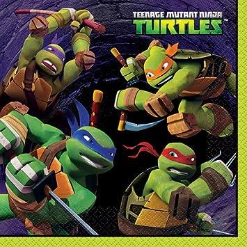 Teenage Mutant Ninja Turtles Party Napkins, 16ct