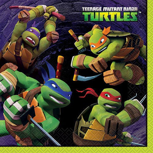Teenage Mutant Ninja Turtles Party Napkins, 16ct ()