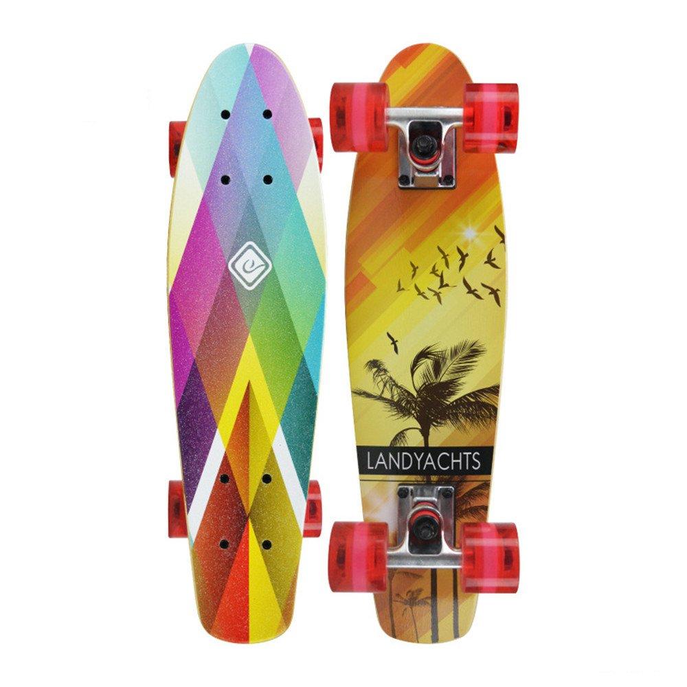 国内発送 エクストリームスポーツとアウトドアのための完全なスケートボードデッキは初心者とプロフェッショナルのためのスケートボードトリック Red (Color B07H7XHNLJ Red : Yellow) B07H7XHNLJ Red Red, ギフトアベニュー:3ee653c4 --- a0267596.xsph.ru
