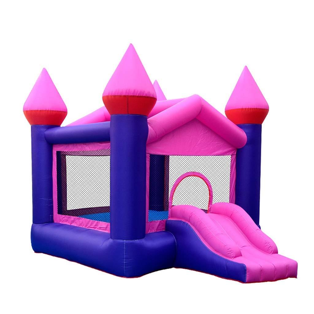 350250270cm Daxiong Sautez Les Jouets d'intérieur et extérieurs d'aire de Jeu de chÂteau de Jardin d'enfants de trempoline de Petits Enfants de trempoline de Trampoline de ménage