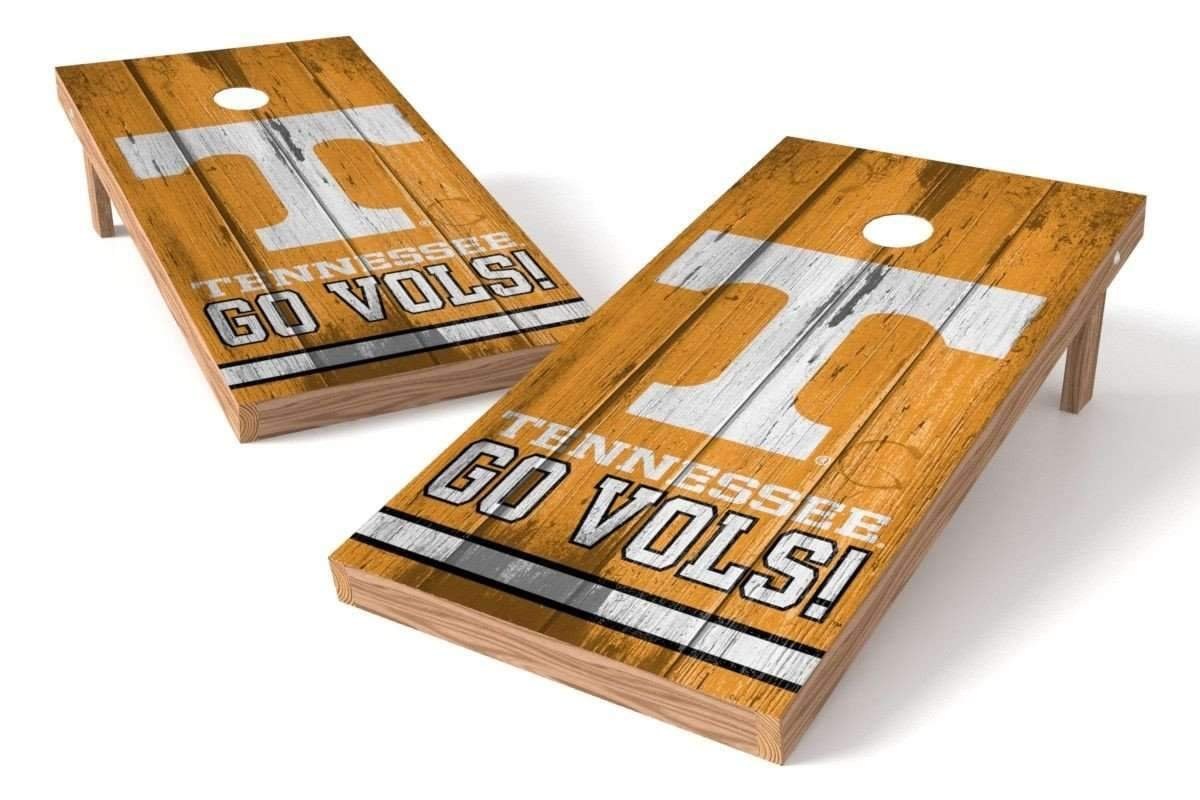 PROLINE NCAA College 2' x 4' Tennessee Volunteers Cornhole Board Set - Vintage by PROLINE