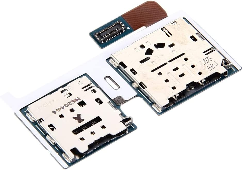 ZENGMING Repair Parts Micro SD Card /& SIM Card Reader Flex Cable for Galaxy Tab S2 9.7 4G T819 Phone Replacement Parts