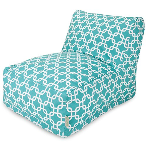 Majestic Home Goods Links Bean Bag Chair Lounger, Teal
