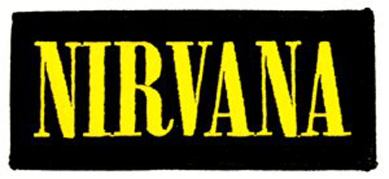 4.25 x 2 Wings NIRVANA Iron-On // Officially Licensed Original Artwork
