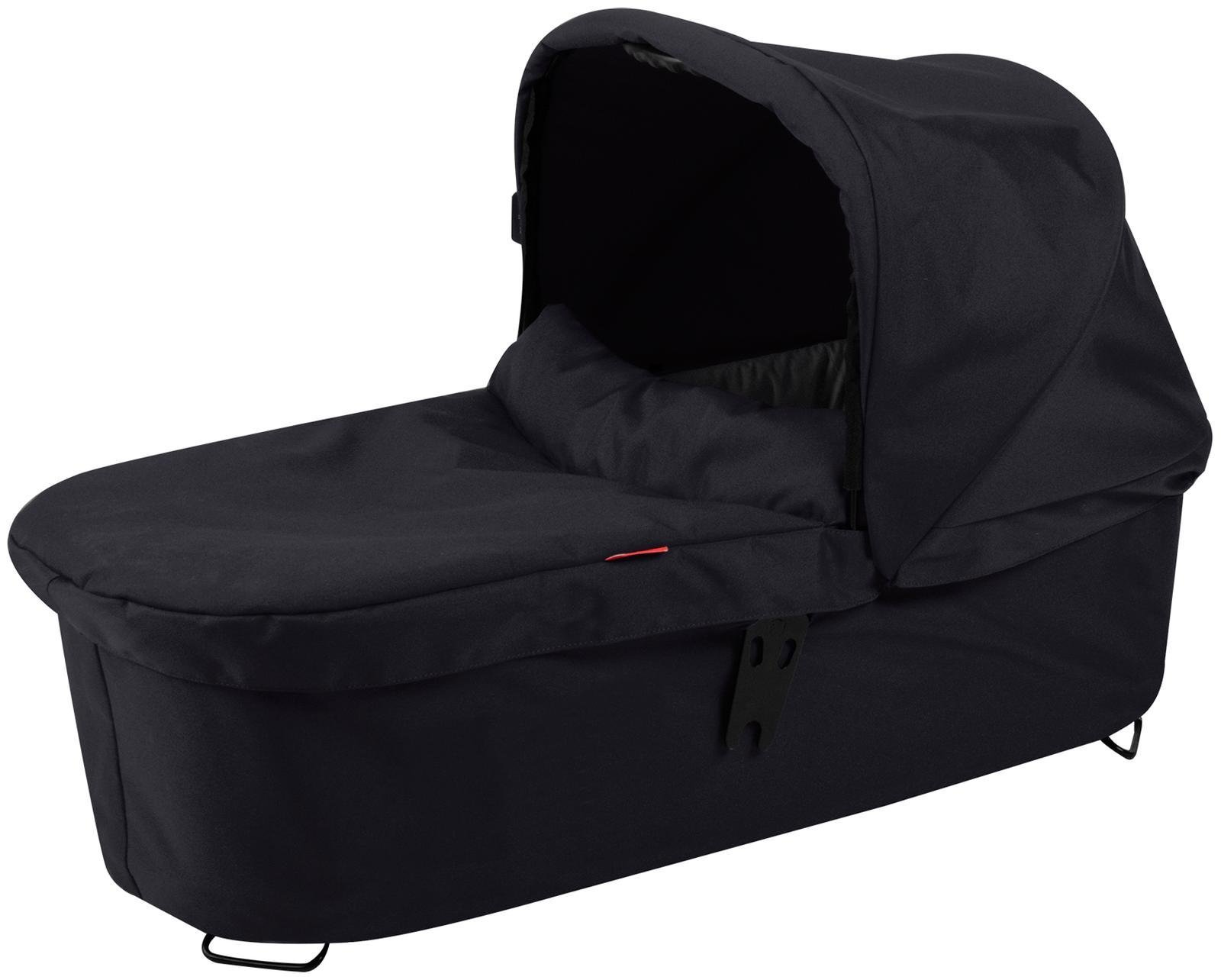 phil&teds Snug Carrycot for Dash Stroller, Black by phil&teds (Image #1)