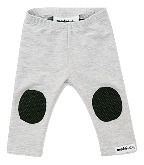 Modababy Hypoallergenic Crawling Leggings Bamboo Fabric Baby Leggings Grey Black 18 M Amazon In Clothing Accessories
