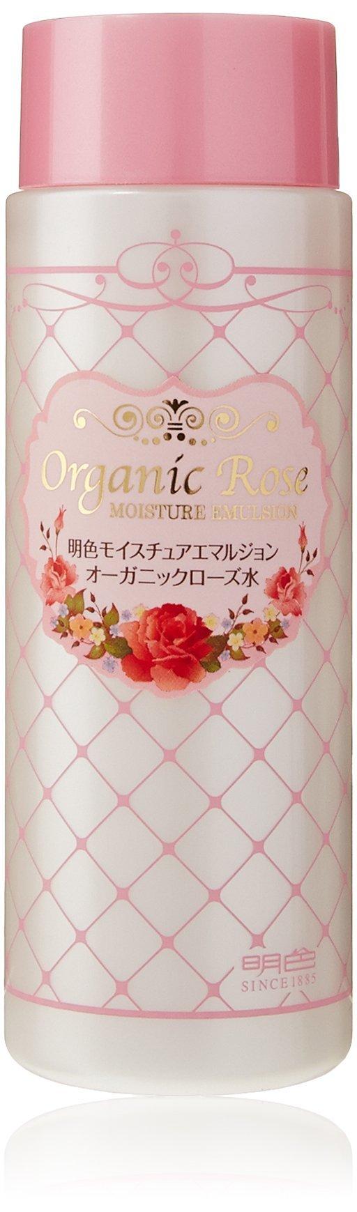 ORGANIC ROSE Meishoku Moisture Emulsion, 6 Fluid Ounce