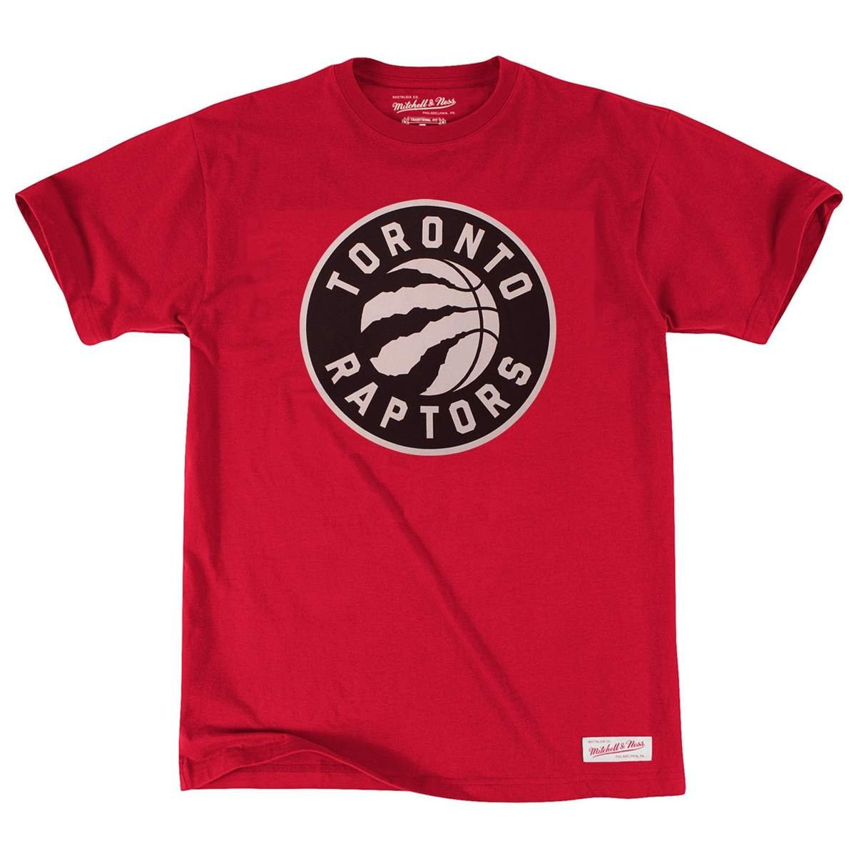 Mitchell & Ness Toronto Raptors Black & White Logo NBA Camiseta de Color Rojo: Amazon.es: Deportes y aire libre