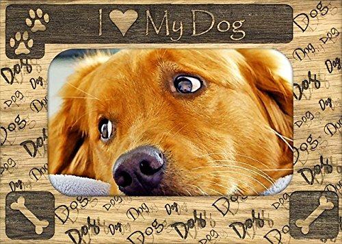 Giftworks Plus IHS0001 I Heart My Dog44; Alder Wood Frame44; 8 x 10 In from GiftWorksPlus