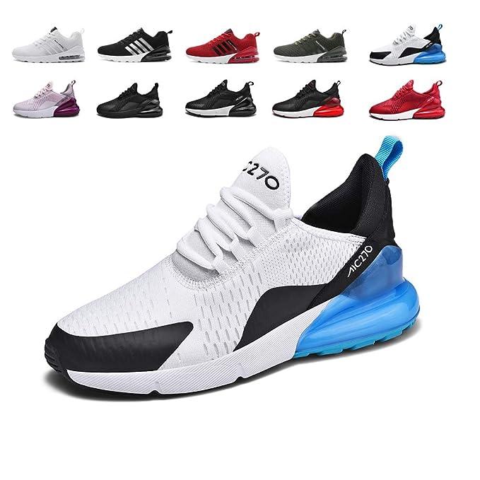 Mujer Zapatillas Deporte para Zapatillas de Ligeras Running Transpirables Cómodas Correr para Zapatos de Malla 35-46 EU